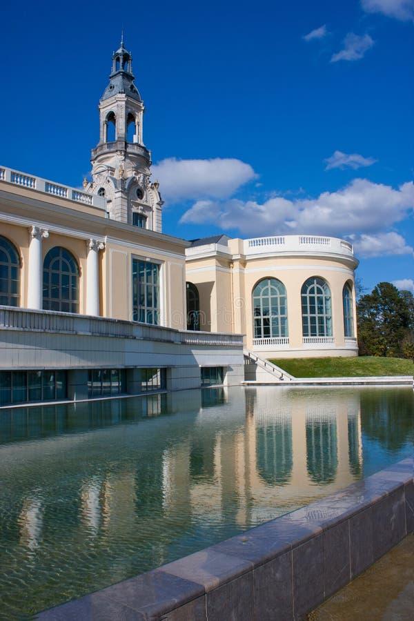 O palácio de Beaumont em Pau imagens de stock