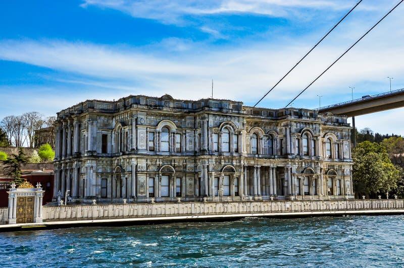O palácio de Beylerbeyi em Istambul, Turquia imagens de stock