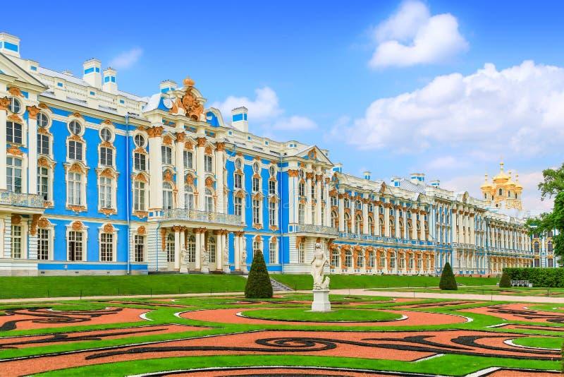 O palácio de Catherine, Rússia imagem de stock