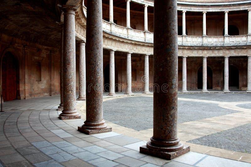 O palácio de Charles V fotografia de stock
