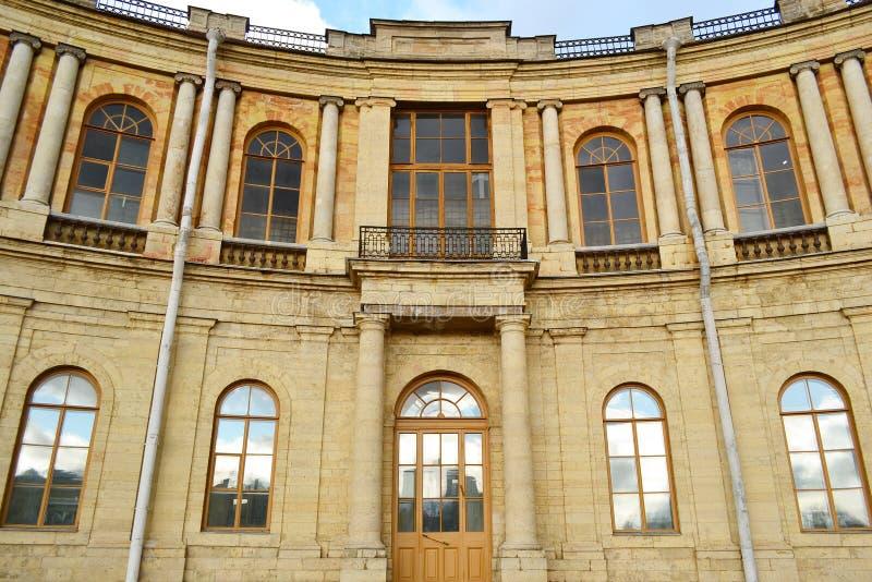O palácio de Gatchina foto de stock royalty free