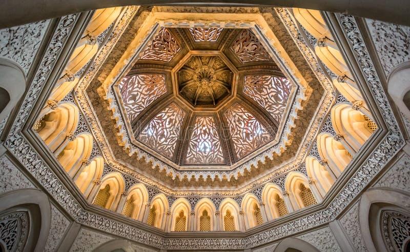 O palácio de Monserrate em Sintra, Portugal imagens de stock