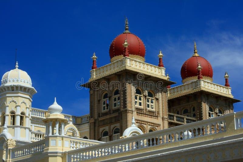 O palácio de Mysore, India imagem de stock royalty free