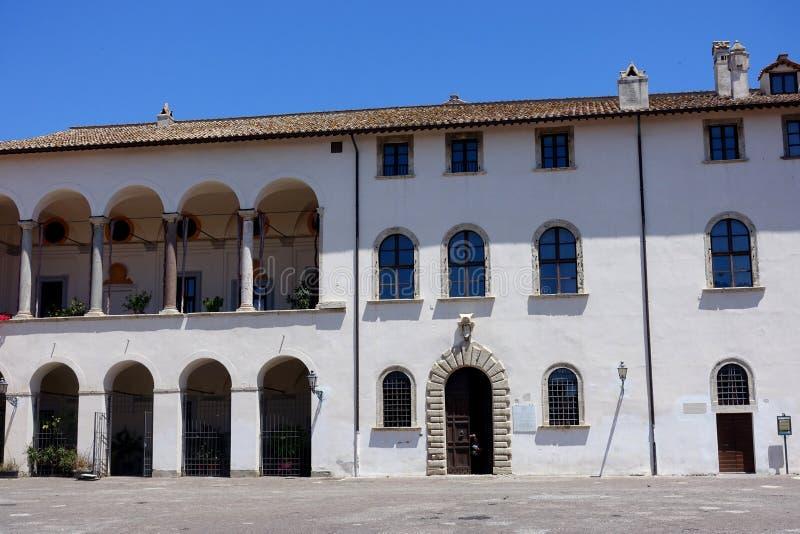 O palácio de Ruspoli em Cerveteri foto de stock royalty free