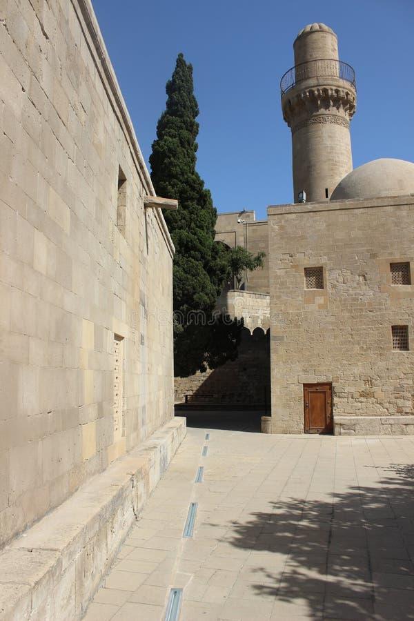 O palácio de Shirvanshah, Baku foto de stock royalty free