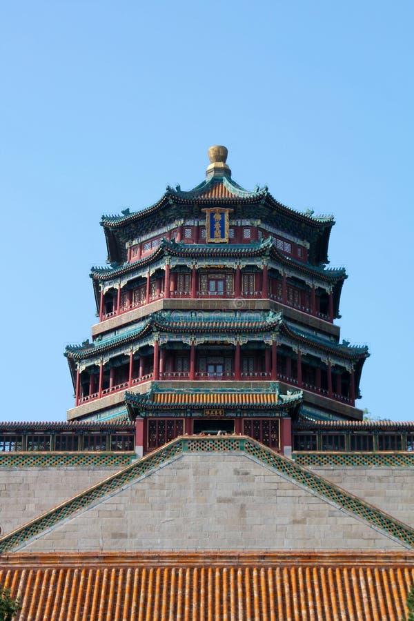 O palácio de verão, Pequim foto de stock