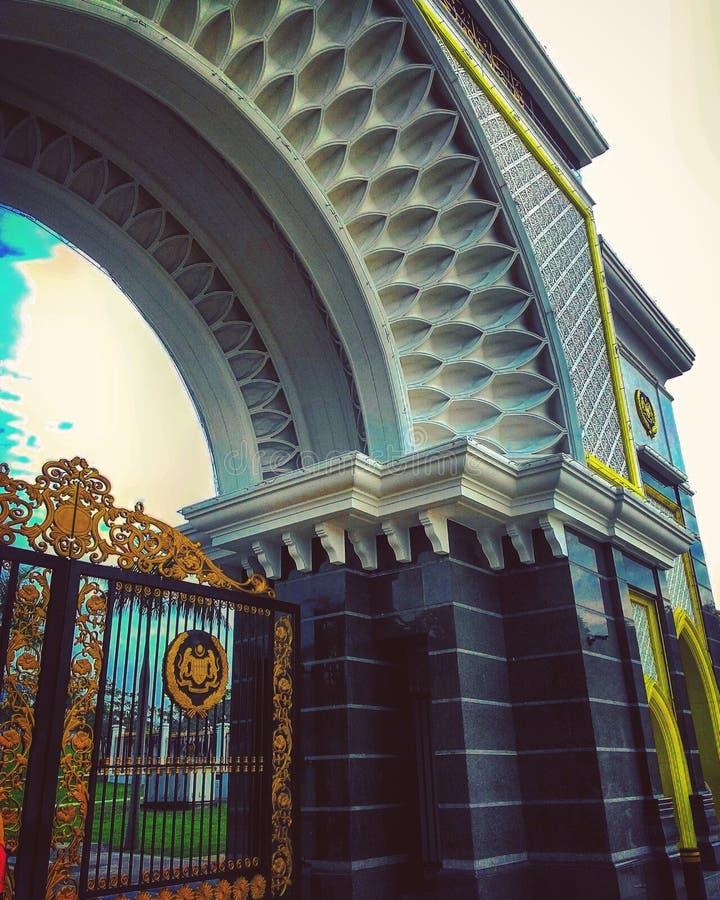 O palácio do rei imagem de stock