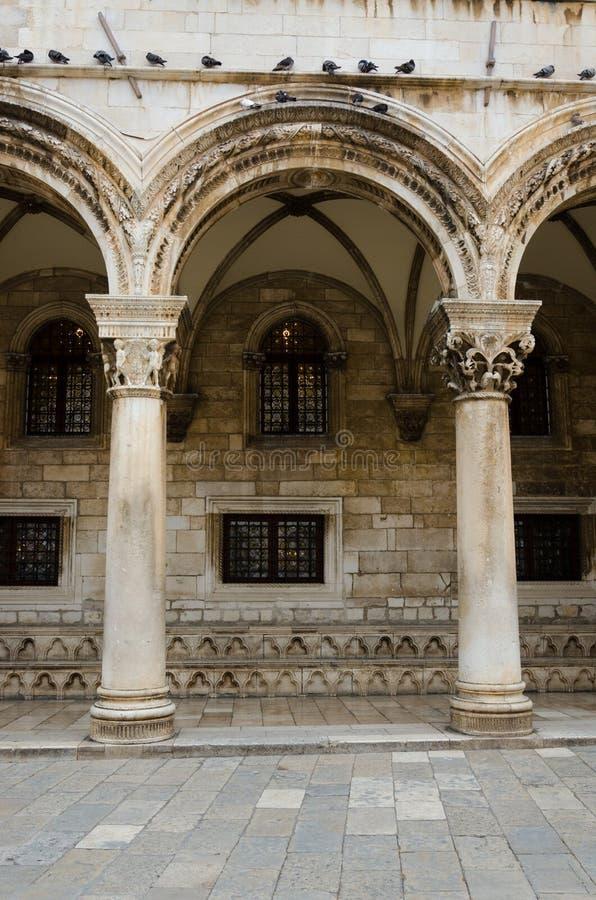 O palácio do reitor fotos de stock royalty free