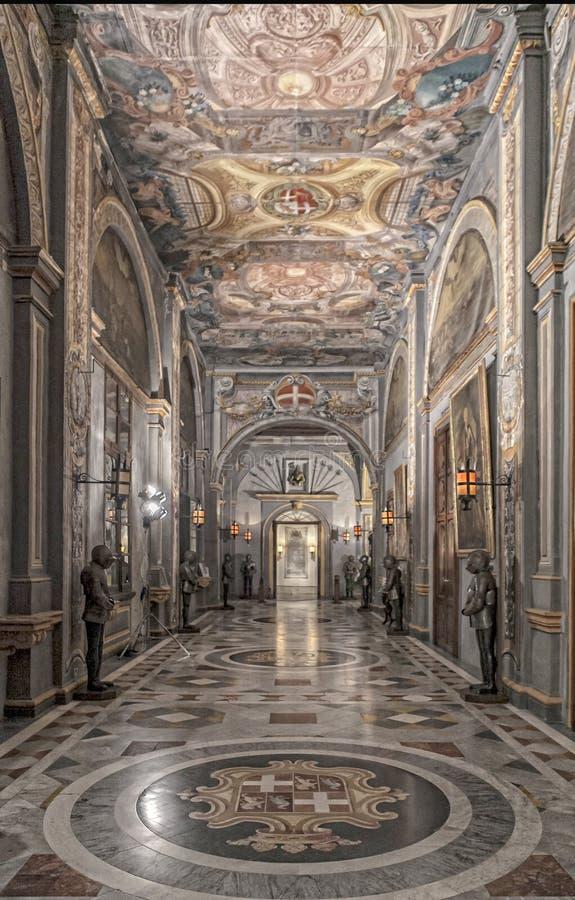 O palácio dos Grandmasters fotografia de stock