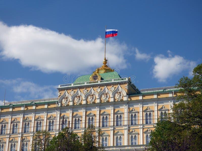 O palácio grande do Kremlin fotos de stock