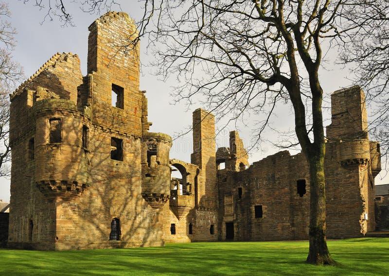 O palácio II dos condes, Kirkwall, Orkney imagens de stock royalty free