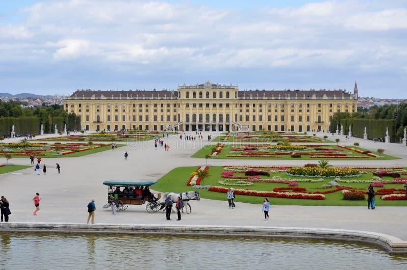 O palácio imperial em Viena fotografia de stock royalty free