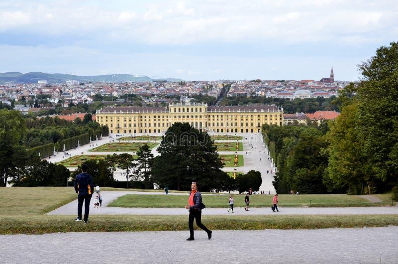 O palácio imperial em Viena fotografia de stock