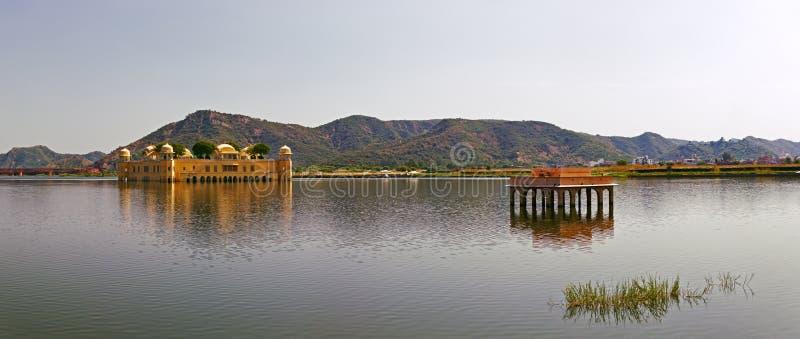 O palácio Jal Mahal, Jaipur, Índia imagens de stock