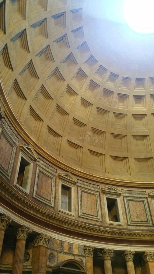 O panteão antigo de Roma fotografia de stock