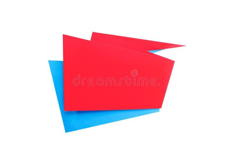 O papel cortou a bandeira geométrica da venda, oferta especial, disconto Molde na moda da etiqueta da etiqueta do origâmi Texto d fotografia de stock