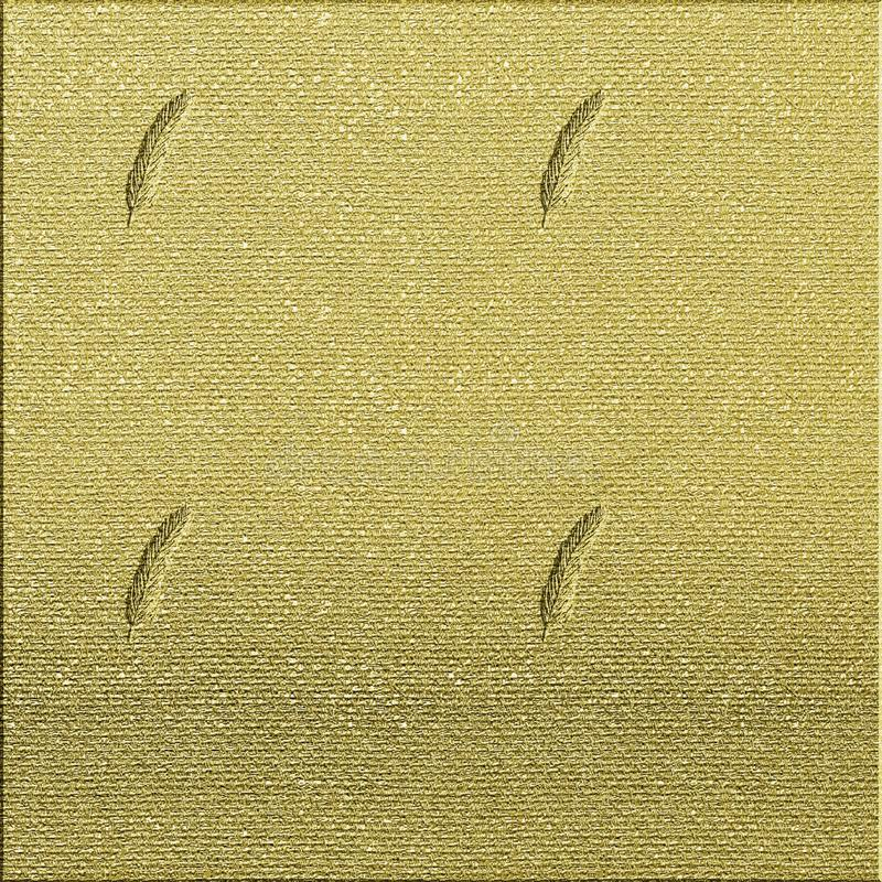 O papel da lona textured A folha do outono gravou fundo textured Papel do tema da queda para artes finalas Vintage que olha o pro fotos de stock