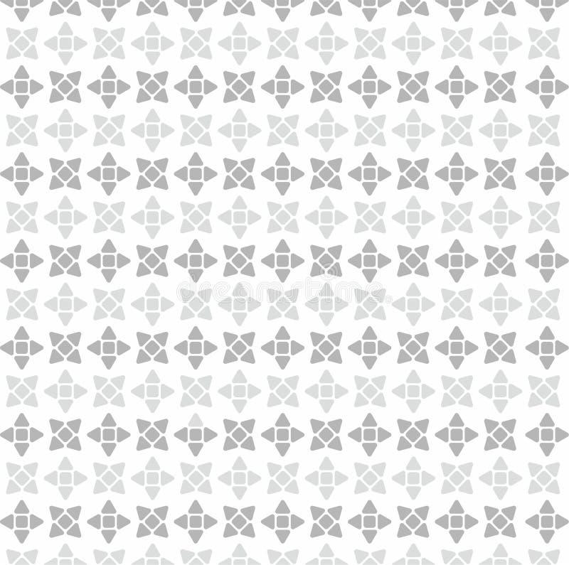 O papel de parede branco de Shuriken ilustração stock