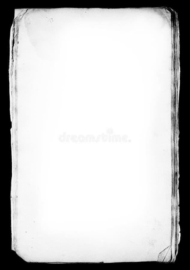 O papel sujo cobre a camada matte. ilustração royalty free