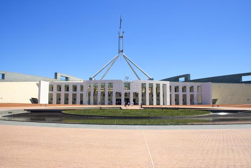 O parlamento abriga fotos de stock