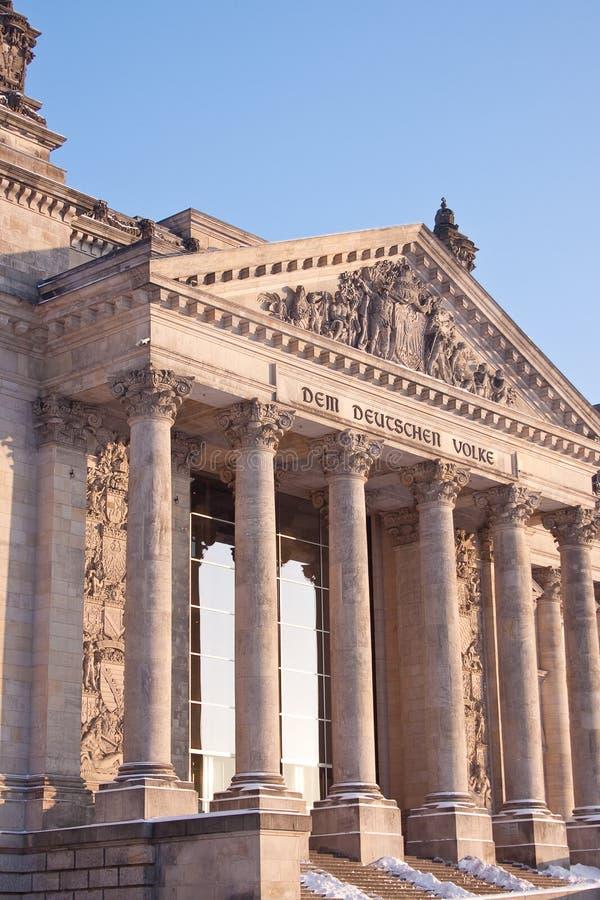 O parlamento alemão. imagem de stock royalty free