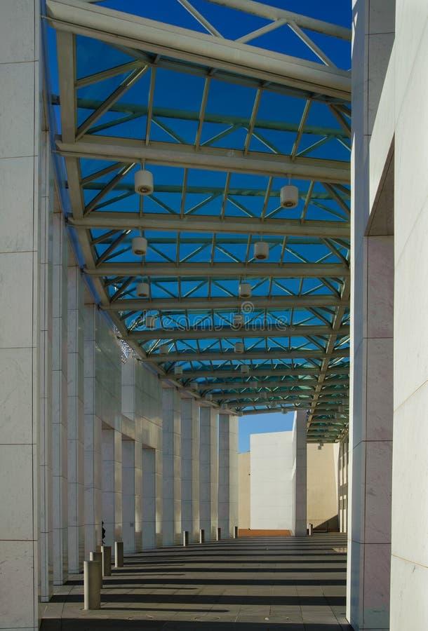 O parlamento de Austrália abriga fotos de stock royalty free