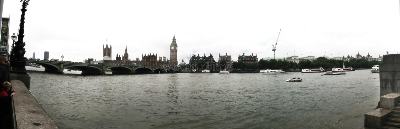 O parlamento de ben grande abriga a opinião Reino Unido Londres do panorama foto de stock royalty free