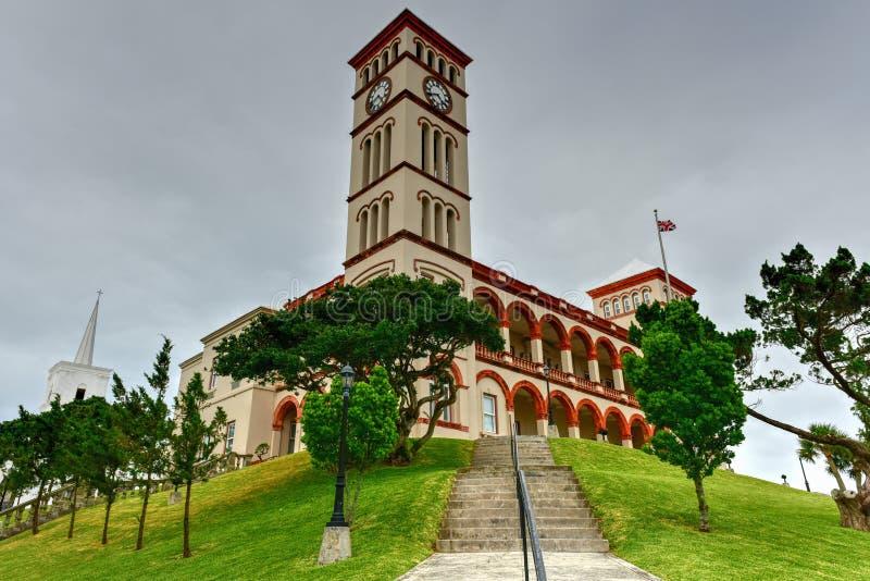 O parlamento de Bermuda imagens de stock