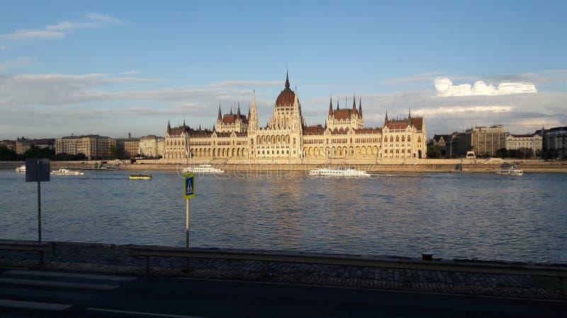 O parlamento de Budapes fotos de stock