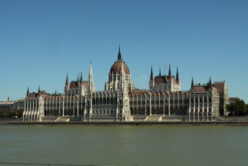 O parlamento de Budapest, Hungria fotografia de stock
