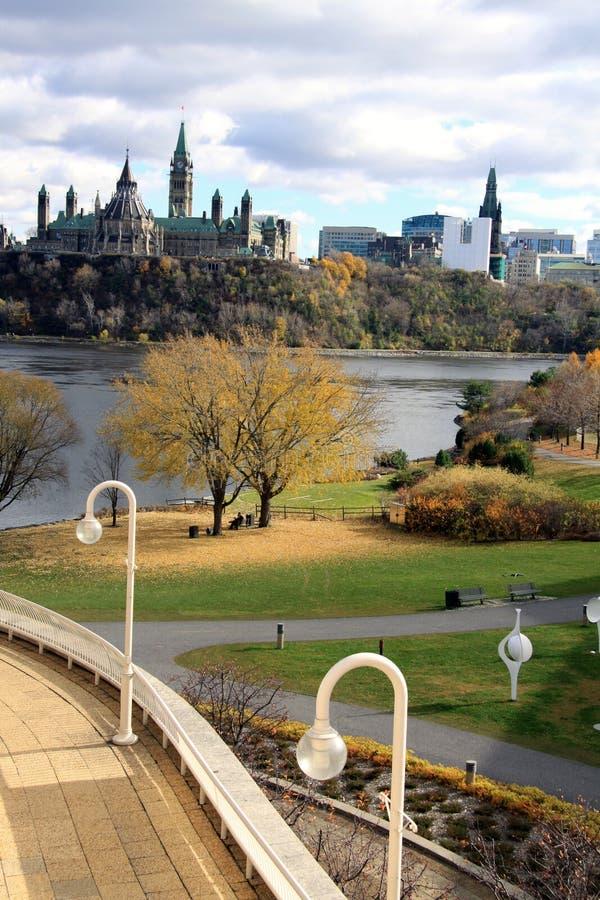O parlamento de Canadá imagens de stock