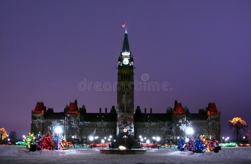 O parlamento de Canadá foto de stock royalty free