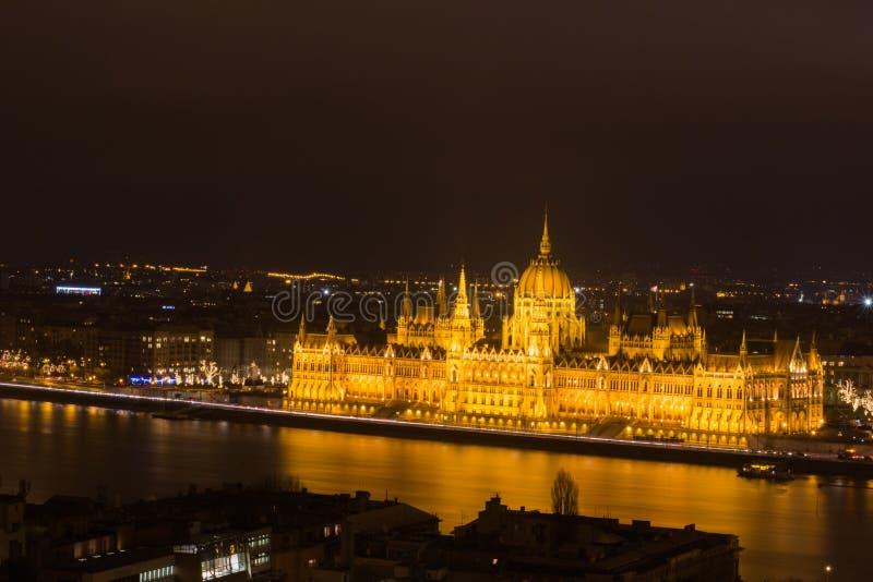 O parlamento de Hungria imagem de stock royalty free