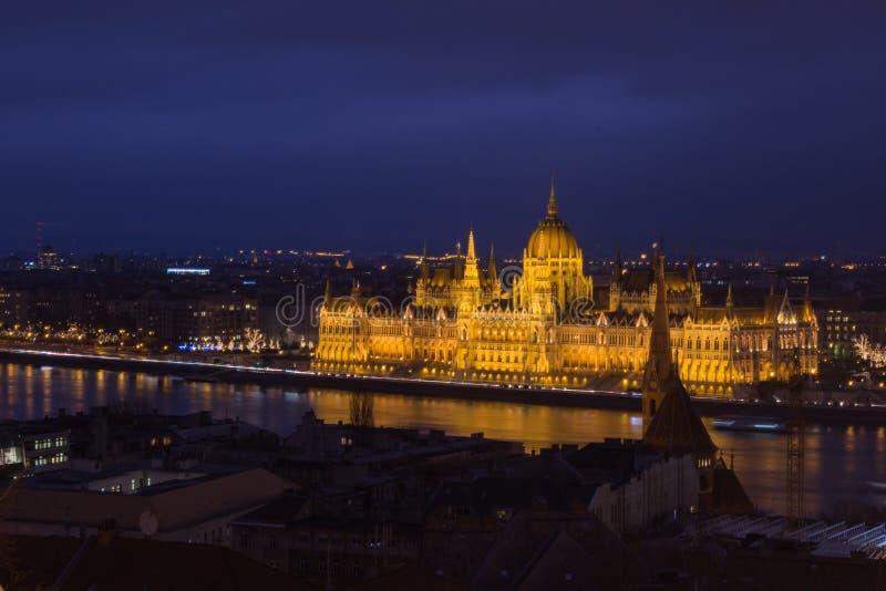 O parlamento de Hungria imagens de stock