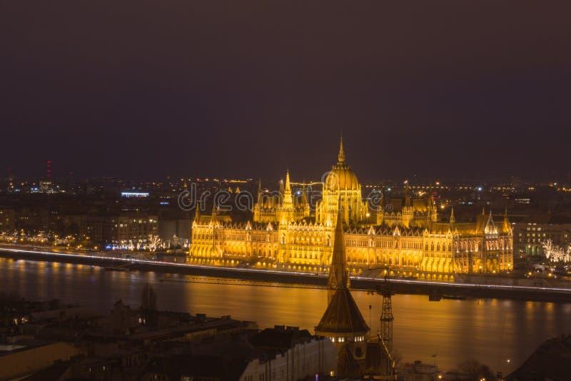 O parlamento de Hungria imagens de stock royalty free
