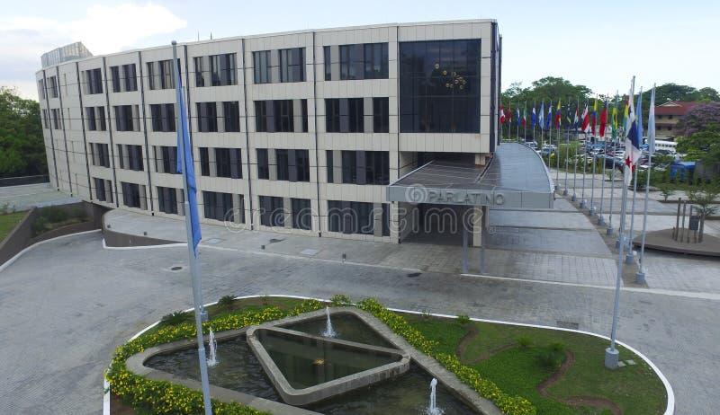 O parlamento de Panamá imagem de stock