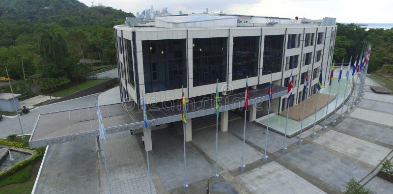 O parlamento de Panamá situado na calçada político imagens de stock royalty free