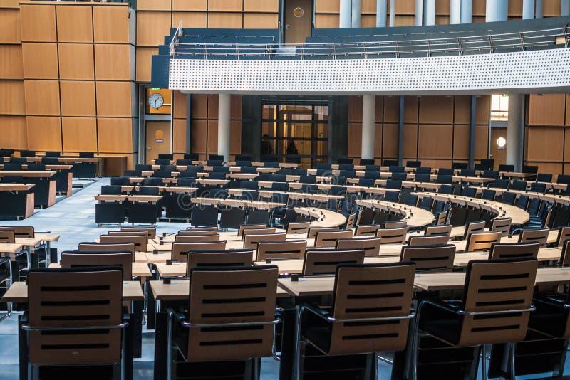 O parlamento do estado em Berlim fotografia de stock royalty free