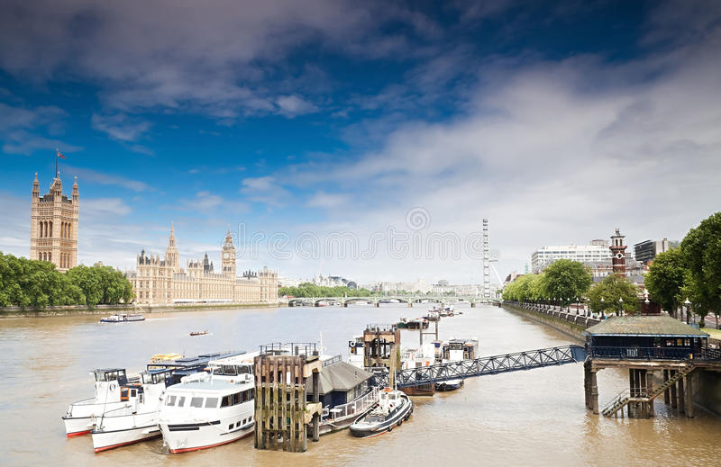 O Parlamento Do Reino Unido Fotografia de Stock Royalty Free