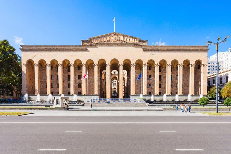 O parlamento Georgian velho imagens de stock royalty free