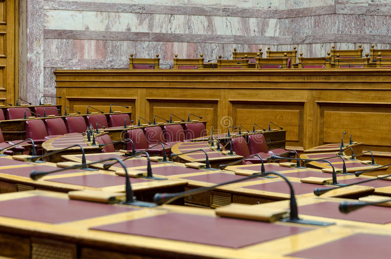 O parlamento grego fotografia de stock royalty free