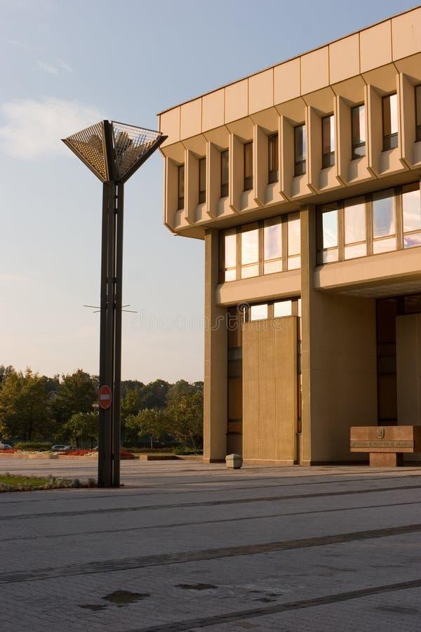 O parlamento lituano abriga fotografia de stock royalty free