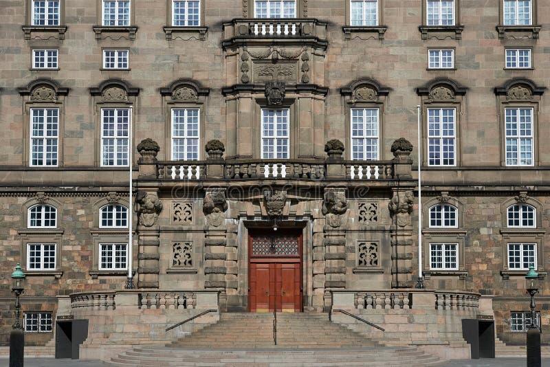 O parlamento nacional dinamarquês foto de stock royalty free