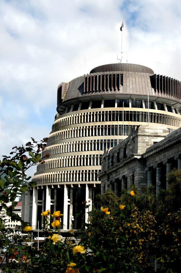 O parlamento, Nova Zelândia imagens de stock
