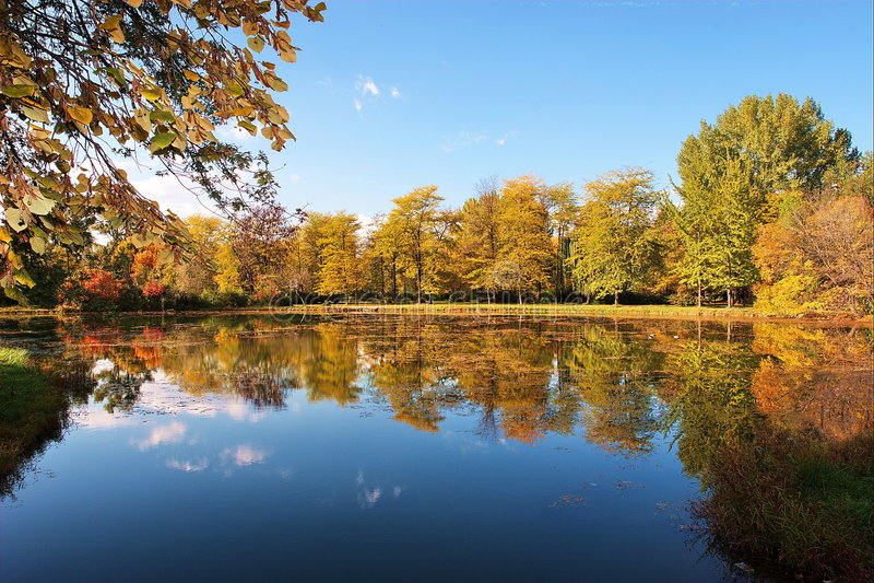 O parque da cidade de Skopje imagens de stock royalty free