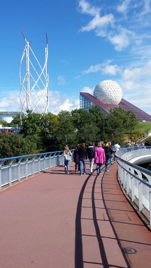 O parque do futuroscope fotografia de stock