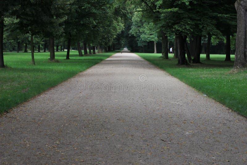 O parque grande do jardim, Dresden fotos de stock