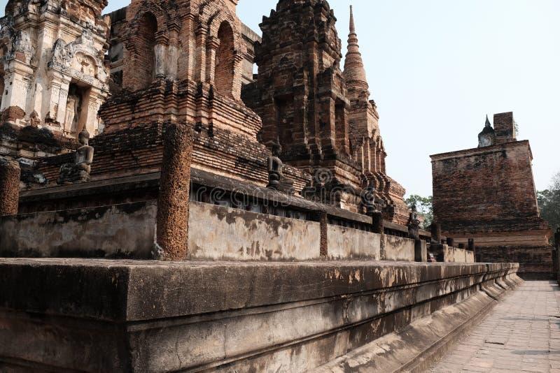 O parque histórico de Sukhothai fotografia de stock royalty free
