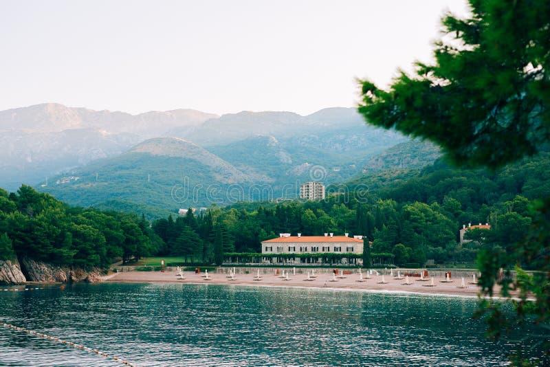 O parque Milocr, casa de campo, rainha da praia fotos de stock