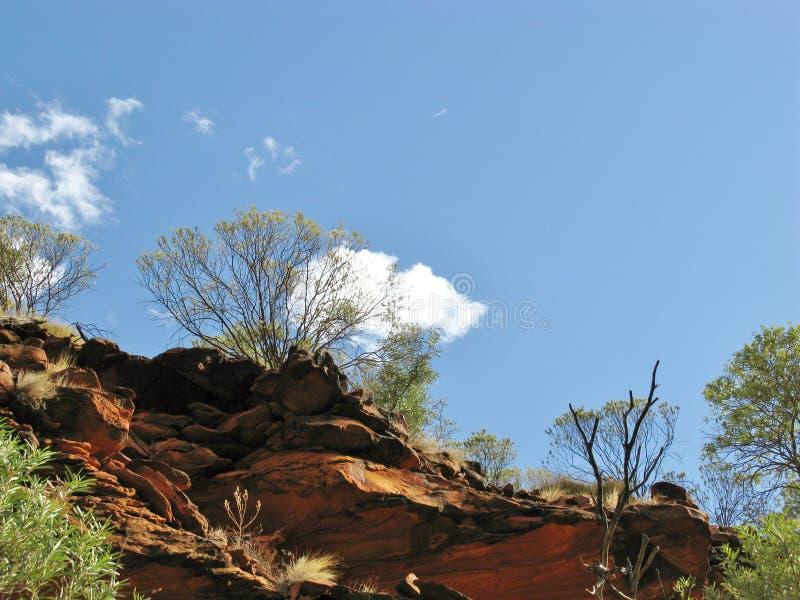 O parque nacional australiano de Watarrka imagem de stock royalty free